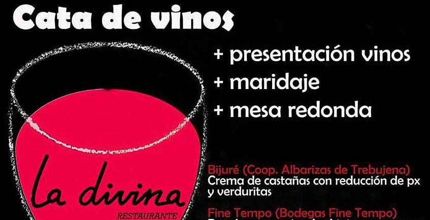 9 de marzo. El Bosque. Cata de vinos en La Divina