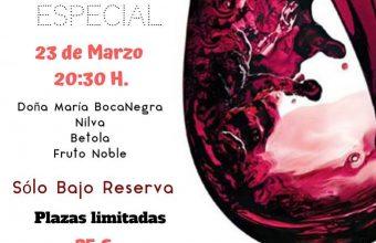 23 de marzo. San Roque. Cata de vinos y maridaje Selección Especial