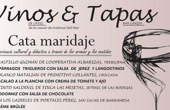 17 de mayo. Algodonales. Cata Maridada en Bar Canijo