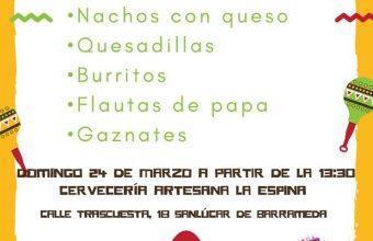 24 de marzo. Sanlúcar. Tapeo vegano mexicano