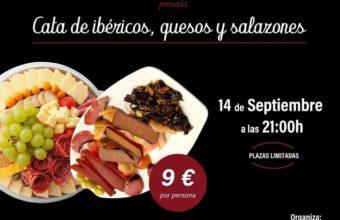 Cata de quesos, ibéricos, salazones y productos serranos en El Puerto