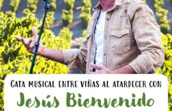 Cata musical entre viñas con Jesús Bienvenido