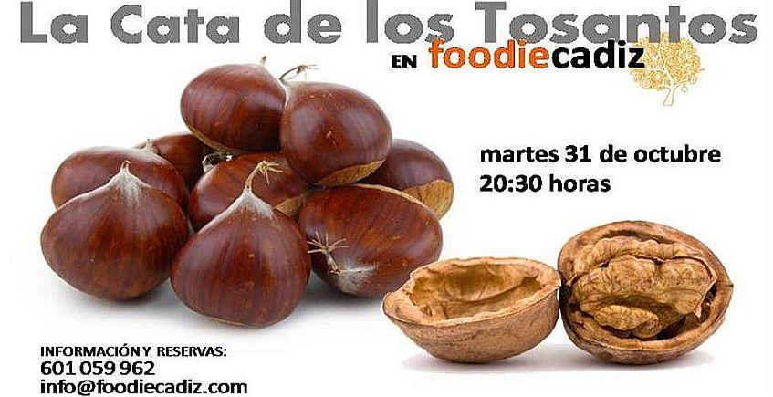 31 de octubre. Cádiz. Cata de Tosantos en Foodie