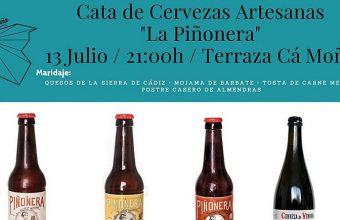 13 de julio. Trebujena. Cata de cervezas artesanas La Piñonera