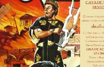 13 y 14 de julio. Sanlúcar. XI Cata de vinos & Historia 'Una de romanos' en DeAlbariza