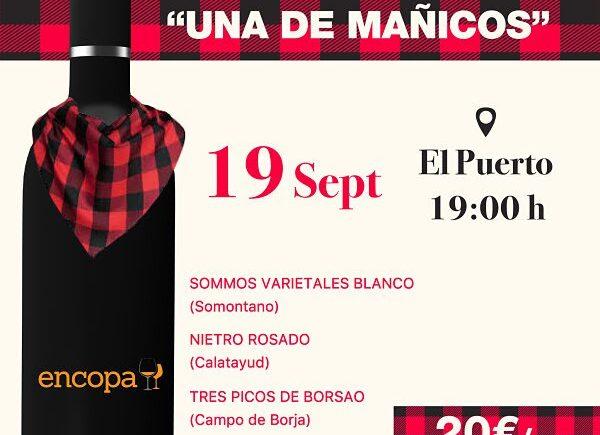 Cata 'Una de mañicos' de Vinos & Maridaje en El Puerto