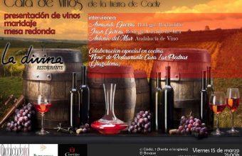 15 de marzo. El Bosque. Cata de vinos de la Tierra de Cádiz en La Divina