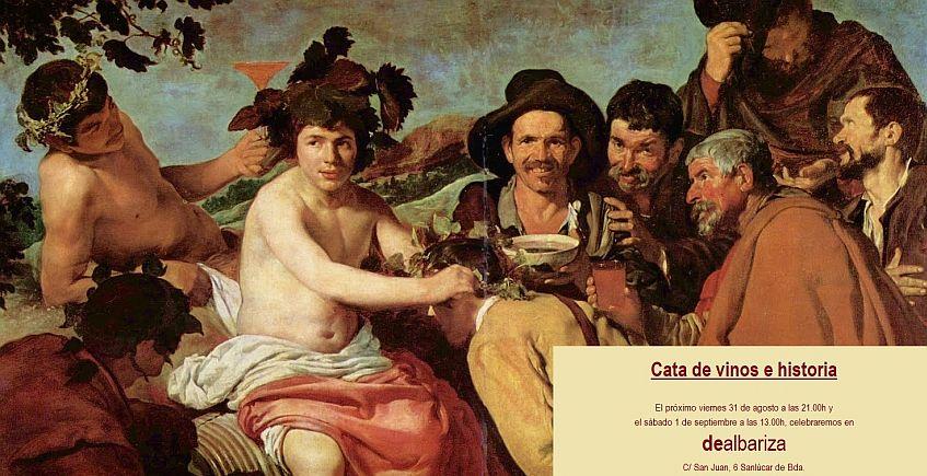 31 de agosto y 1 de septiembre. Sanlúcar. Cata de vinos e historia
