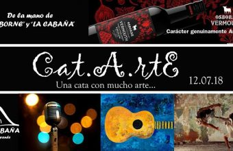 12 de julio. San Roque. Cata con arte en La Cabaña de Sotogrande