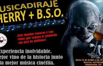 24 de octubre. San Fernando. Musicaridaje: bandas sonoras y vinos de Jerez