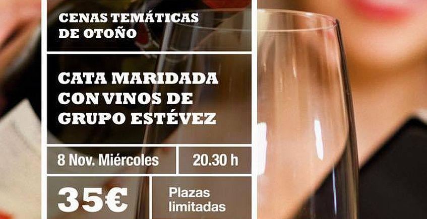 8 de noviembre. Jerez. Cata con vinos del Grupo Estévez en La Cruz Blanca