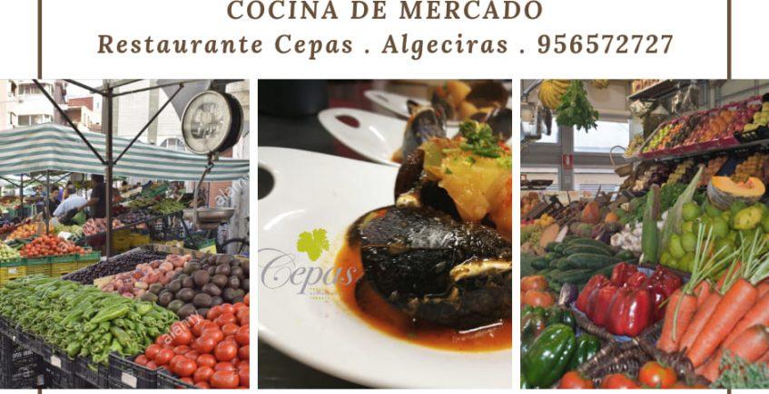 15 de marzo. Algeciras. Menú degustación de cocina de mercado en el Restaurante Cepas