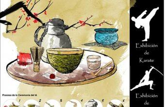 27 de abril. Chiclana. Ceremonia del té en Un toque de Canela