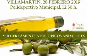 28 de febrero. Villamartín. Certamen de platos típicos andaluces y de zopas