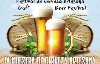 IV Muestra de Cerveza Artesana. El Puerto. Del 24 al 26 de mayo