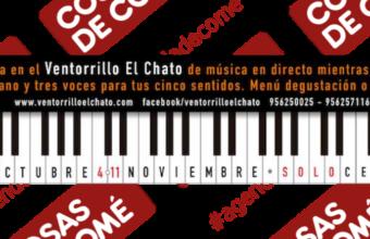 14 de octubre al 11 de noviembre. Cádiz. Cenas con música en el Ventorrillo El Chato