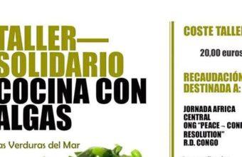18 de febrero. Chiclana. Cocina con algas
