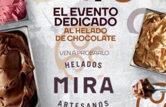 Fin de semana dedicado al chocolate en Helados Mira