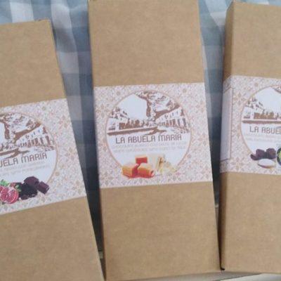 Las tabletas de chocolate con la imagen de Setenil.