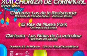 Choriza de Carnaval en Espera