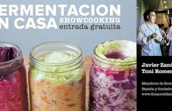 10 de julio. Tarifa. Demostración de fermentación en casa