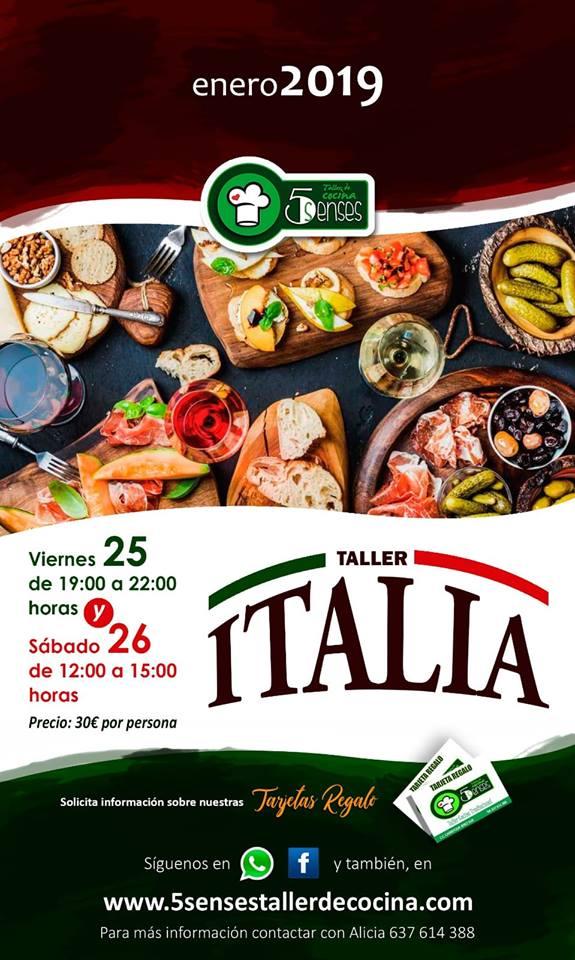 cocina italiana enero 2019