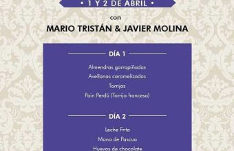 1 y 2 de abril. Cádiz. Taller de cocina de Semana Santa