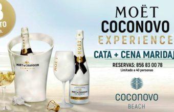 Cata Moët Chandon Experience en Coconovo Beach