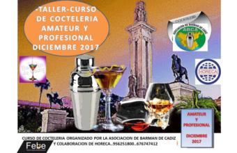 19 de diciembre. Chiclana. Taller de coctelería