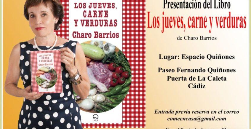 Presentación del libro Los jueves, carne y verdura de Charo Barrios