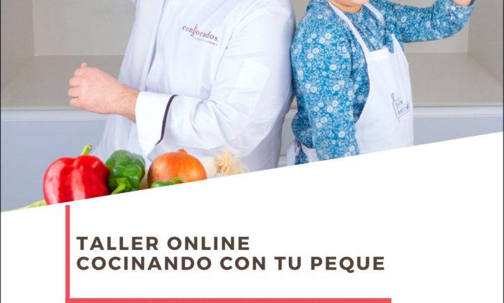 Taller online 'Cocinando con tu peque'