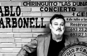 8 de julio. Rota. Concierto de Pablo Carbonell con cena temática 'Atún y chocolate'