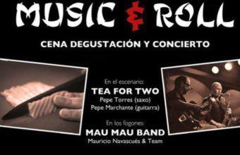7 de abril. Cádiz. Music & Roll en Mau Mau