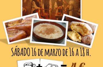 16 de marzo. Cádiz. Concurso de dulces y postres de Cuaresma
