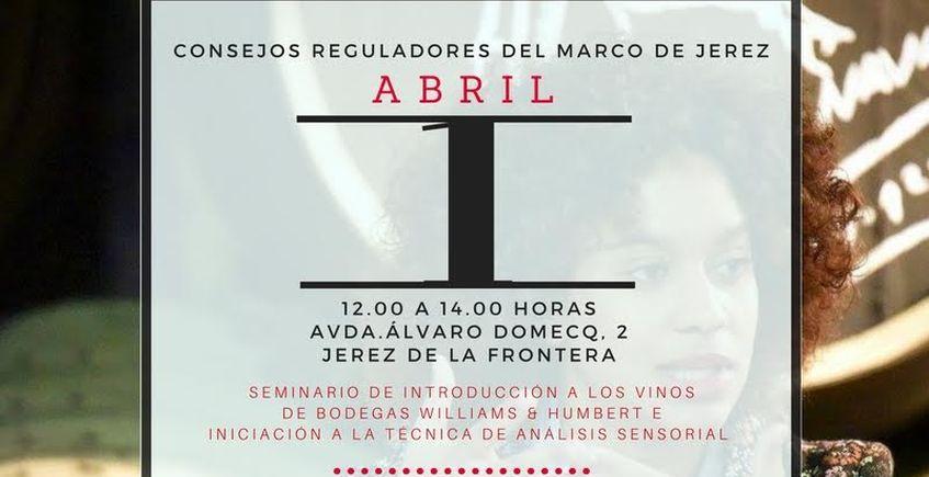 1 de abril. Jerez. Seminario de introducción a los vinos
