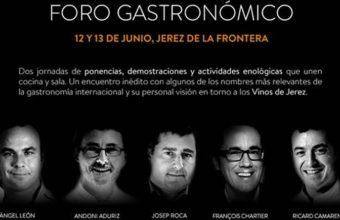 12 y 13 de junio. Jerez. Foro gastronómico Copa Jerez