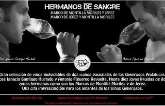 9 de mayo. San Fernando. Cata 'hermanos de sangre: Marco de Montilla Moriles y Jerez'