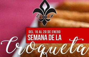 Del 16 al 20 de enero. Chiclana. Semana de la croqueta en la Venta El Florín