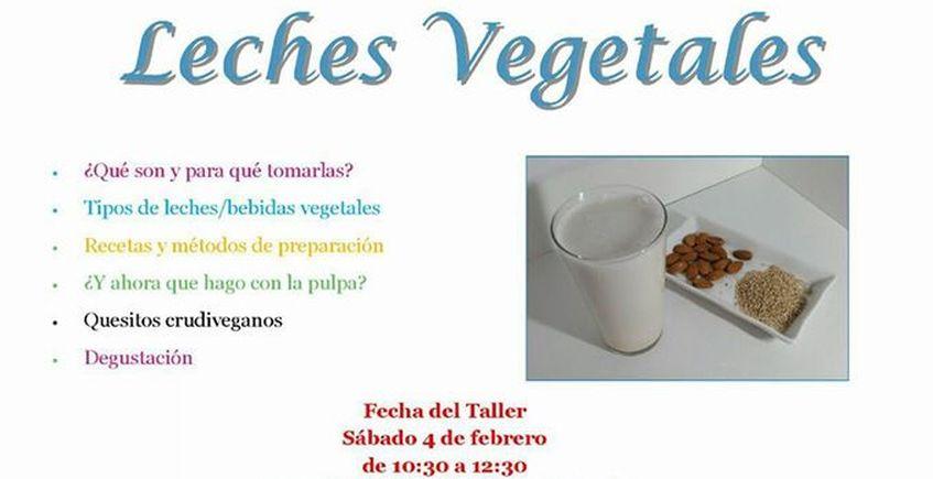 4 de febrero. Algeciras. Taller de leches vegetales