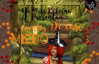 El Club de los Cuentos Golosos en Miss Kafeina el 26 de octubre