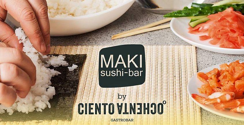 1 de febrero. Algeciras. Curso de sushi en Maki Sushi Bar