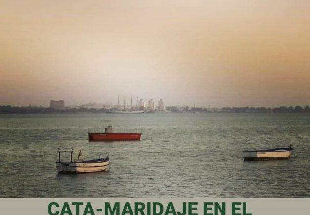 Cata maridada en El Bache de Puerto Real