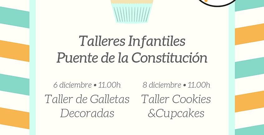 6 y 8 de diciembre. Sanlúcar. Talleres infantiles de galletas en Decimoarte