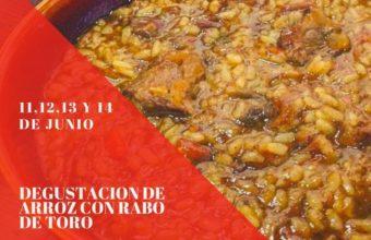 Degustación de arroz con rabo de toro en La cuchara de El Puerto