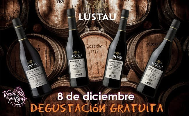 6 y 8 de diciembre. Sanlúcar. Coquinada y Degustación gratuita de la Gama Almacenista de Bodegas Lustau