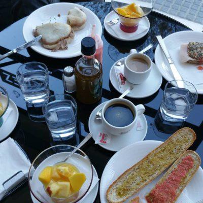 Uno de los desayunos que sirven en el local. Todas las fotos han sido cedidas por el establecimiento.