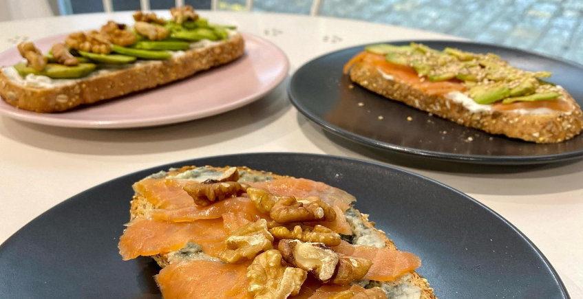 Los desayunos de Sabores Obrador Artesanal