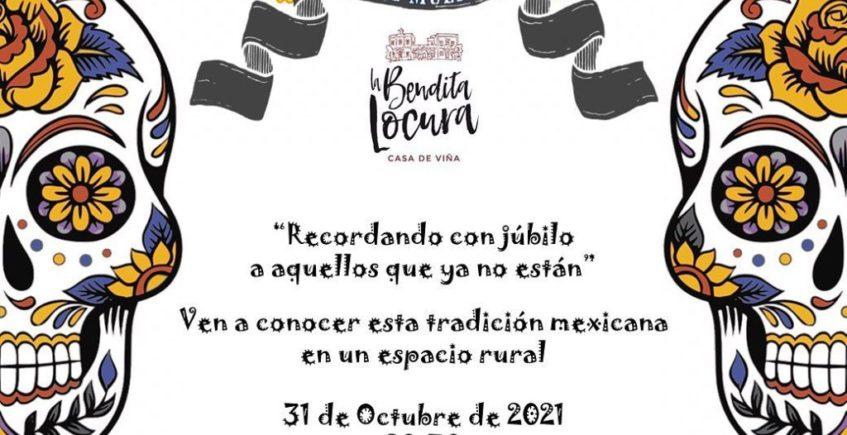 Día de Muertos mexicano en La Bendita Locura de El Puerto