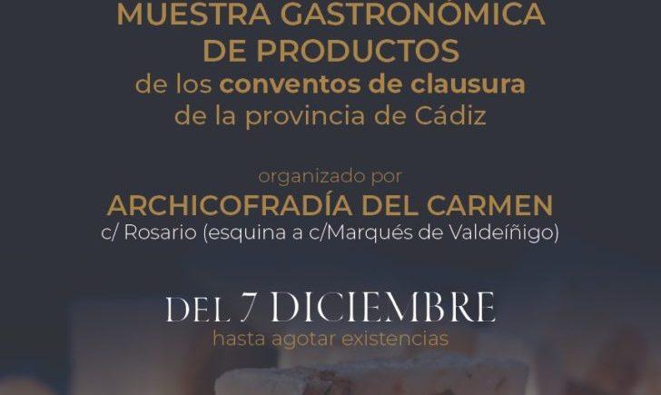Muestra gastronómica ¡Qué rico Dios Mío! en Cádiz