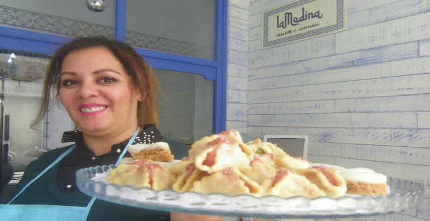 Los dulces del Restaurante La Medina de Tetuán